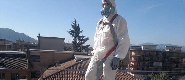 Cosa fare se si scopre un tetto in eternit?