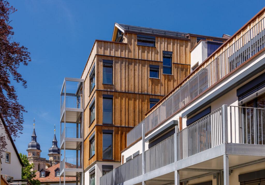 Bioedilizia: un nuovo edificio residenziale di classe 5 realizzato da holzius